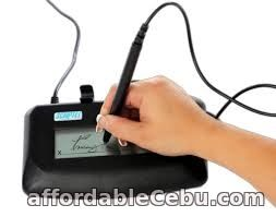 1st picture of Compact LCD Electronic Signature Pad for Cloud Applications For Sale in Cebu, Philippines