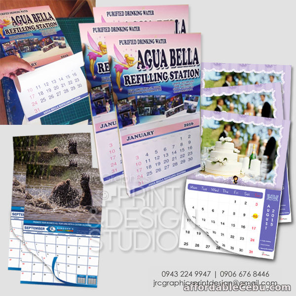 3rd picture of Yearly Customized Calendars For Sale in Cebu, Philippines