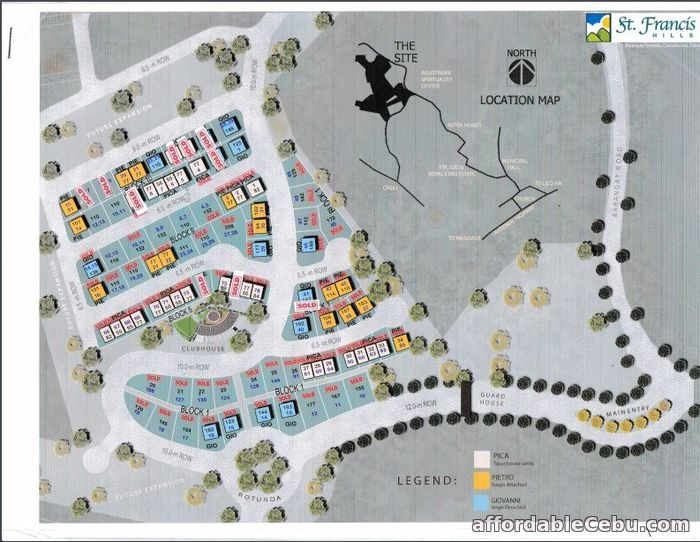 4th picture of lot for sale at st francis hills in consolacion cebu For Sale in Cebu, Philippines