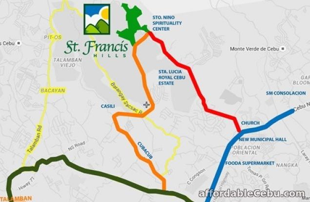 5th picture of lot for sale at st francis hills in consolacion cebu For Sale in Cebu, Philippines