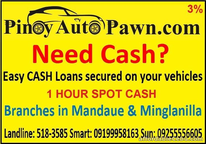 1st picture of NEED CASH? WE ARE HERE TO HELP YOU! Offer in Cebu, Philippines