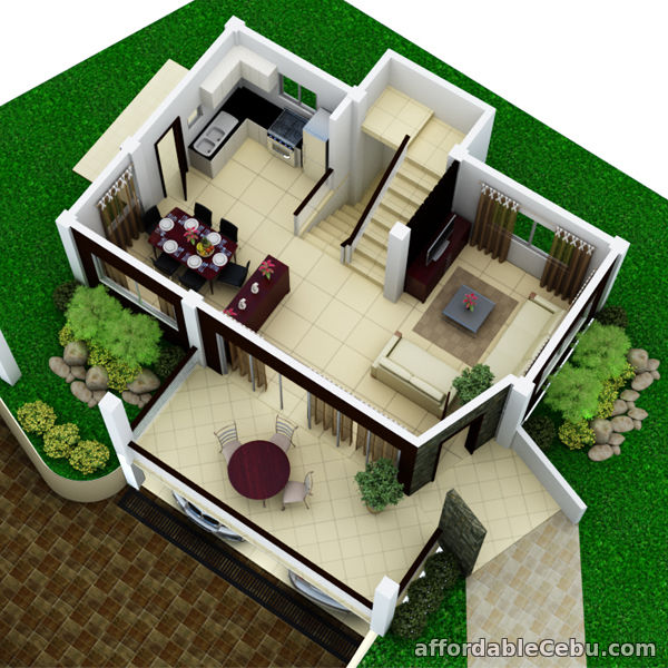 4th picture of 3 Story 4 Bedroom House And Lot For Sale in Talisay City Overlooking View For Sale in Cebu, Philippines