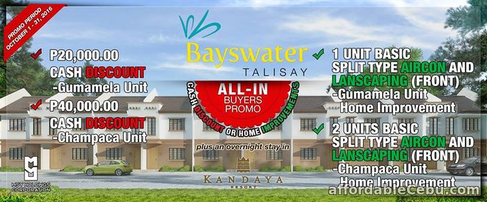 1st picture of House for sale at Bayswater Talisay For Sale in Cebu, Philippines