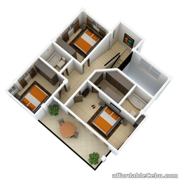 5th picture of 3 Story 4 Bedroom House And Lot For Sale in Talisay City Overlooking View For Sale in Cebu, Philippines