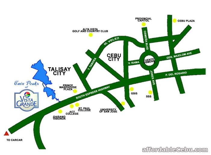 5th picture of Lot for sale at Vista Grande in Talisay City Cebu For Sale in Cebu, Philippines
