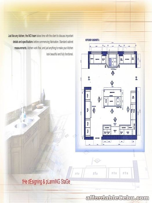 1st picture of Customized Cabinet for Kitchen & Bedrooms For Sale in Cebu, Philippines