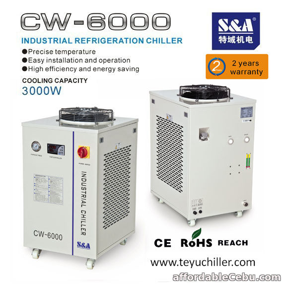 1st picture of S&A water cooled chiller for 20kw router hsd spindle For Sale in Cebu, Philippines