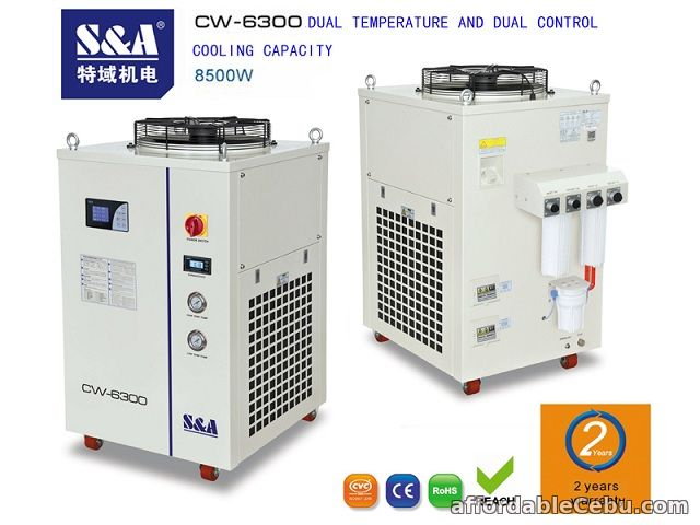1st picture of S&A air/water chiller for cooling IPG laser with 2 years warranty For Sale in Cebu, Philippines