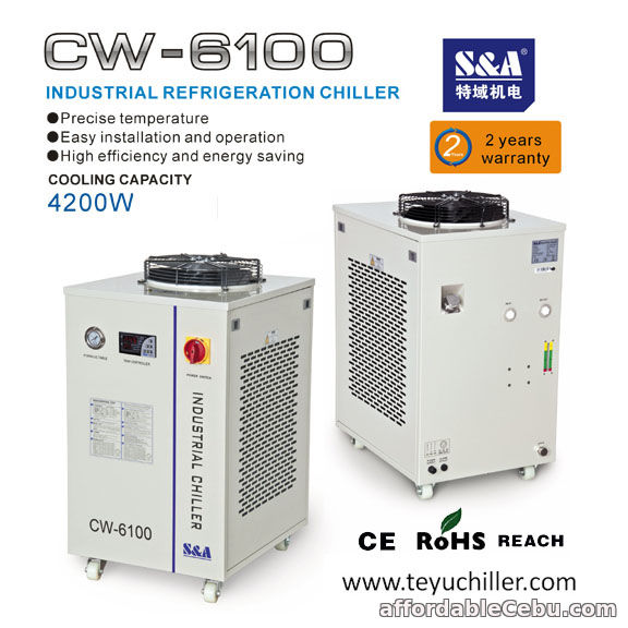 1st picture of S&A air cooled water chiller for resistance welding machine For Sale in Cebu, Philippines