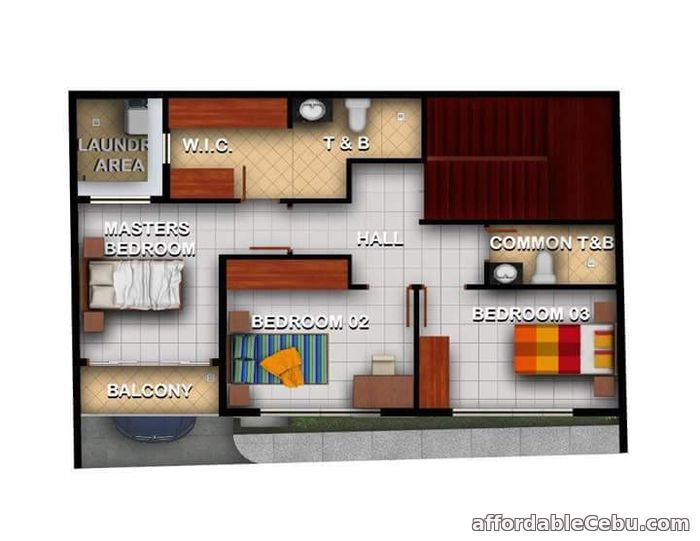 3rd picture of Townhouse for sale at tabunok cebu For Sale in Cebu, Philippines