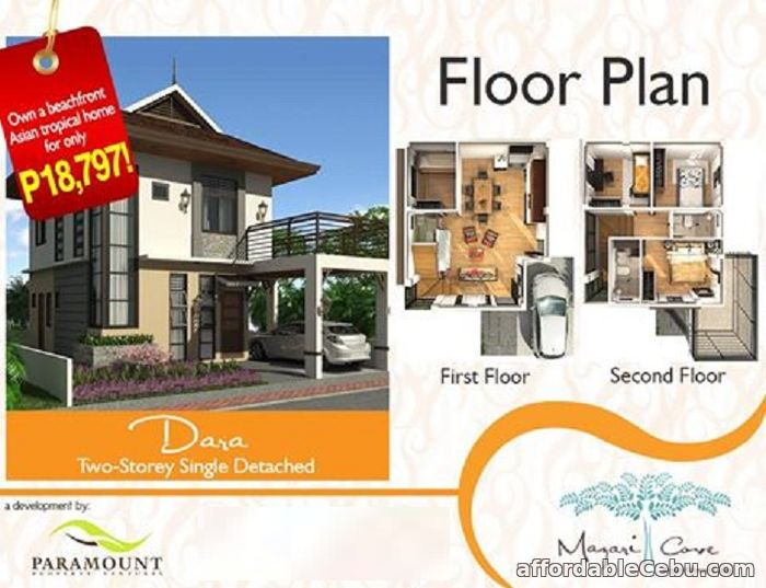 1st picture of Single Detached House for sale at Mazari Cove-Dara Model For Sale in Cebu, Philippines