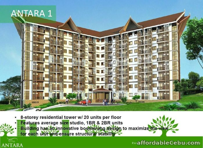 2nd picture of Antara Condominium For Sale is the first residential For Sale in Cebu, Philippines