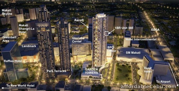 1st picture of 1BR Unit for Sale in Garden Towers For Sale in Cebu, Philippines
