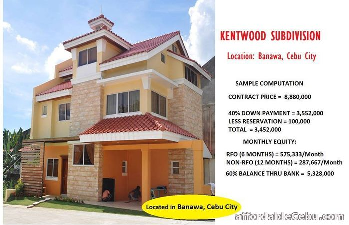 1st picture of Kentwood Subdivision Banawa Cebu City For Sale in Cebu, Philippines