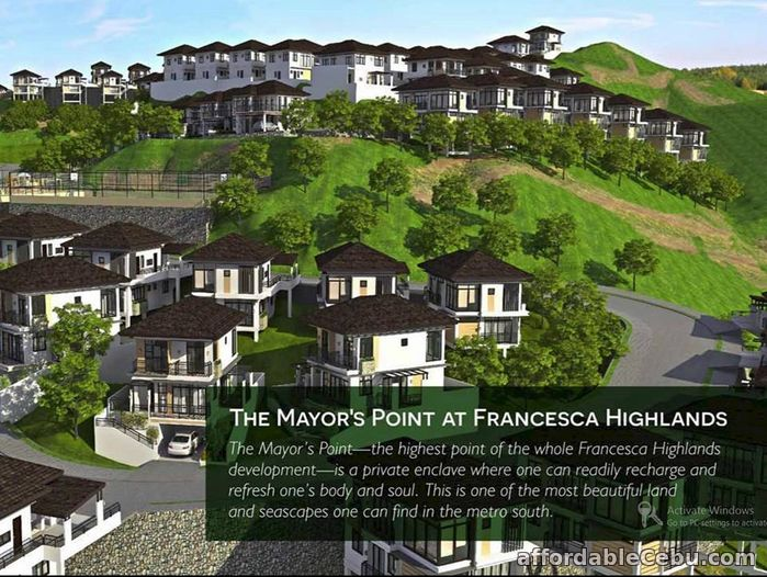 3rd picture of The Francesca Highlands- Greendale For Sale in Cebu, Philippines