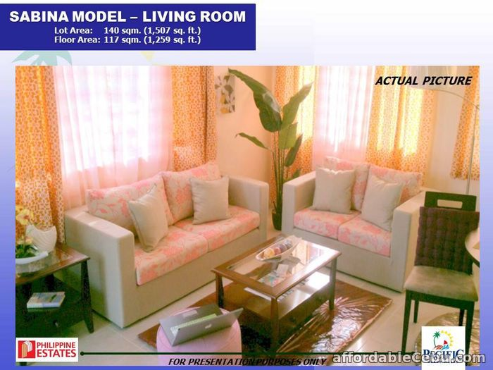 4th picture of Single Detached House for sale at Pacific Grand Villa Sabina Model For Sale in Cebu, Philippines