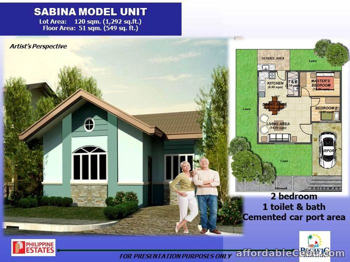 1st picture of Single Detached House for sale at Pacific Grand Villa Sabina Model For Sale in Cebu, Philippines