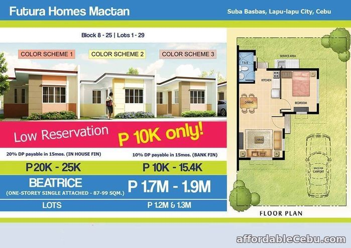 4th picture of FUTURA HOMES in Lapu Lapu Mactan For Sale in Cebu, Philippines