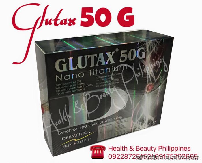 1st picture of glutax 50g nano titanium For Sale in Cebu, Philippines