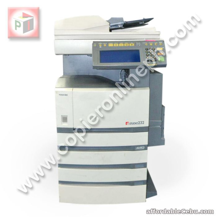 1st picture of TOSHIBA E-232 PHOTOCOPIER / XEROX For Sale in Cebu, Philippines