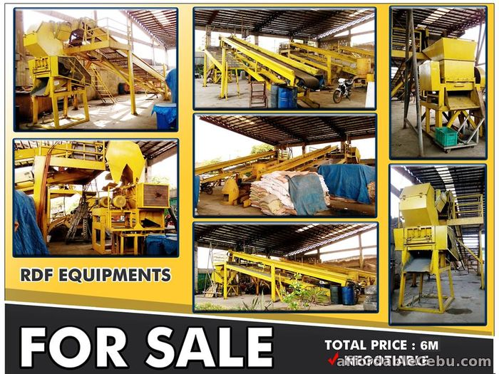 1st picture of REFUSED DERIVED FUEL (RDF) EQUIPMENTS For Sale in Cebu, Philippines