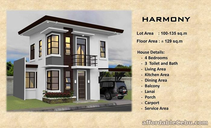 4th picture of 2STOREY HOUSE PRE-SELLING(RICKSVILLE HEIGHTS) For Sale in Cebu, Philippines