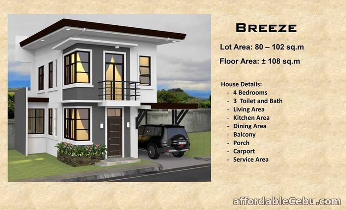 2nd picture of 2STOREY HOUSE PRE-SELLING(RICKSVILLE HEIGHTS) For Sale in Cebu, Philippines