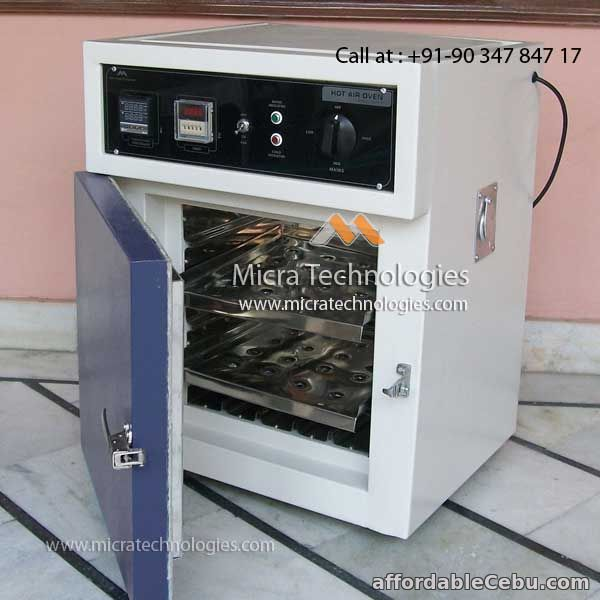 2nd picture of Mitec - 101 - Hot Air Oven India supplier manufacturer For Sale in Cebu, Philippines