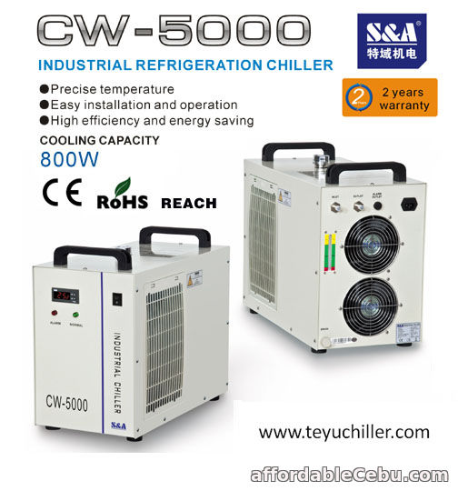 1st picture of S&A industrial chiller for induction heater For Sale in Cebu, Philippines
