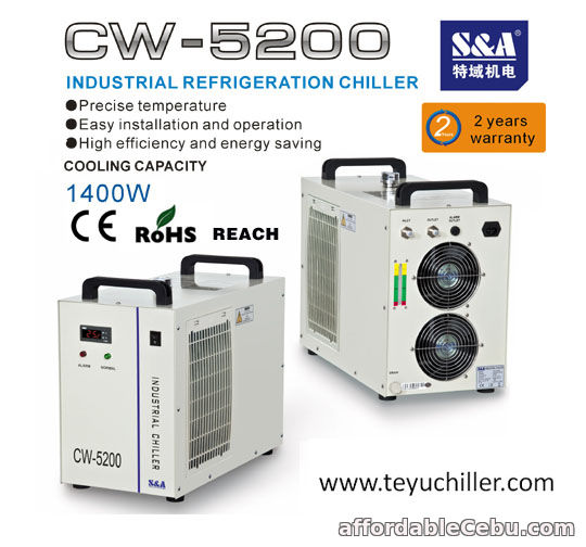 1st picture of S&A chiller for cnc router and co2 laser machines For Sale in Cebu, Philippines