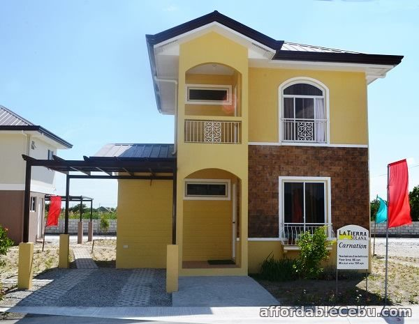 1st picture of House Model Carnation La Tierra Solana House and lot for sale For Sale in Cebu, Philippines