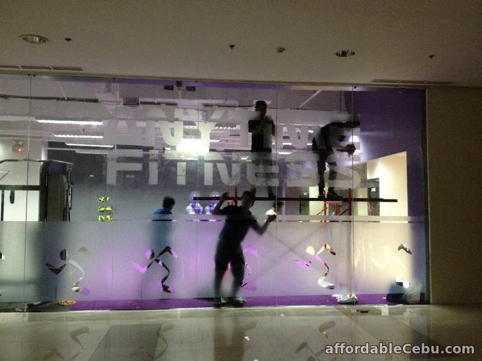 4th picture of Affordable Frosted,Crystal,Etched Film (Primedeco) Frosted Glass Sign Vinyl For Sale in Cebu, Philippines