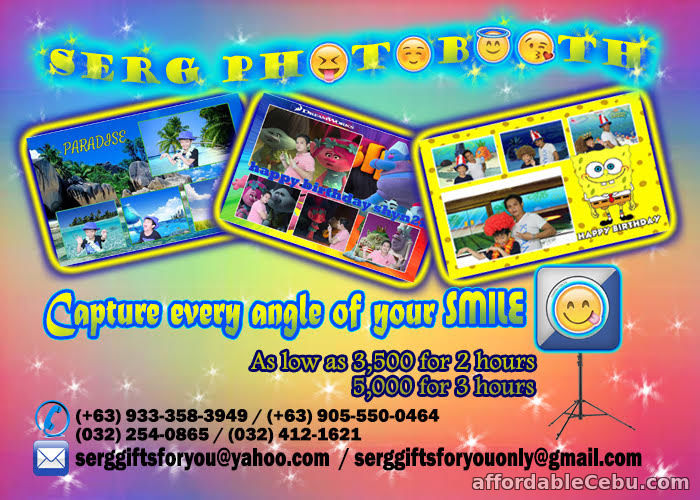 2nd picture of Post here! Post there! And post anywhere! With the help of Serg photobooth Offer in Cebu, Philippines
