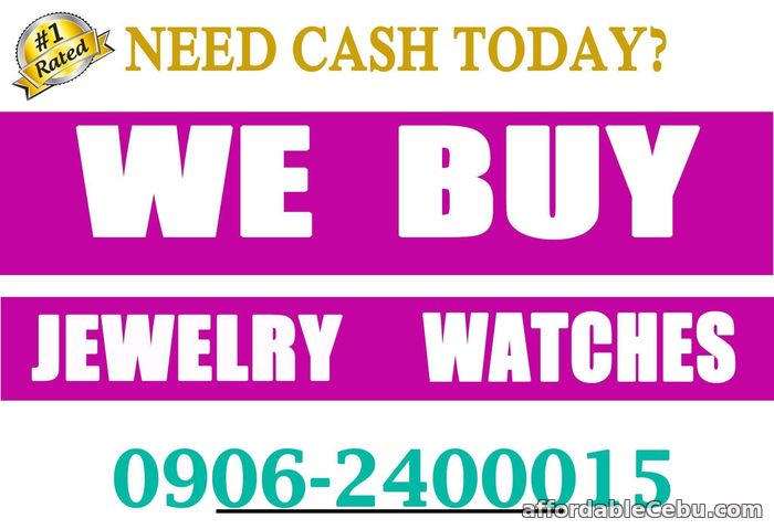 1st picture of TOP BUYER OF JEWELRY AND WATCHES. WE BUY DIAMOND, GOLD, PAWNTICKET! For Sale in Cebu, Philippines