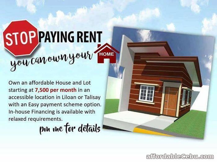 2nd picture of Stop renting, Start buying now-as low as 7,500 For Sale in Cebu, Philippines