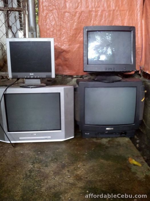 1st picture of Cebu PH - For Sale: CRT TV, COMPUTER MONITOR AND LCD(DAMAGE)