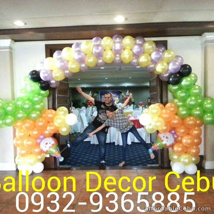 balloon decoration packages for sale cebu city cebu