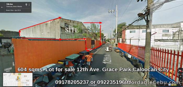 1st picture of Lot for sale near Monumento Caloocan City For Sale in Cebu, Philippines