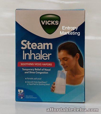 2nd picture of VICKS ® PORTABLE VAPOSTEAM INHALER VAPORIZER V1300 US Quality For Sale in Cebu, Philippines