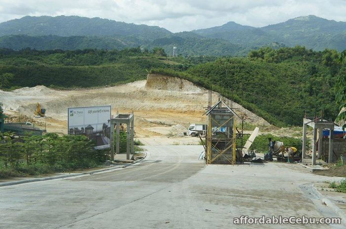 2nd picture of Lot for sale at St. Francis Hills Subdivision For Sale in Cebu, Philippines