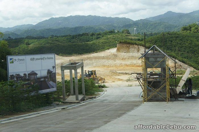 3rd picture of Lot for sale at St. Francis Hills Subdivision For Sale in Cebu, Philippines