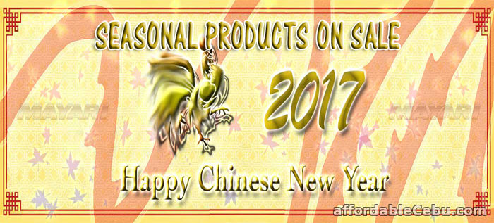 1st picture of Happy Chinese New Year Announcement in Cebu, Philippines