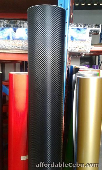 3rd picture of Carbon Fiber and Matte Black Vinyl Stcikers For Sale in Cebu, Philippines