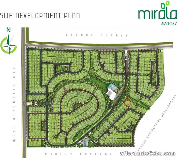 1st picture of MIRALA NUVALI LOT FOR SALE For Sale in Cebu, Philippines