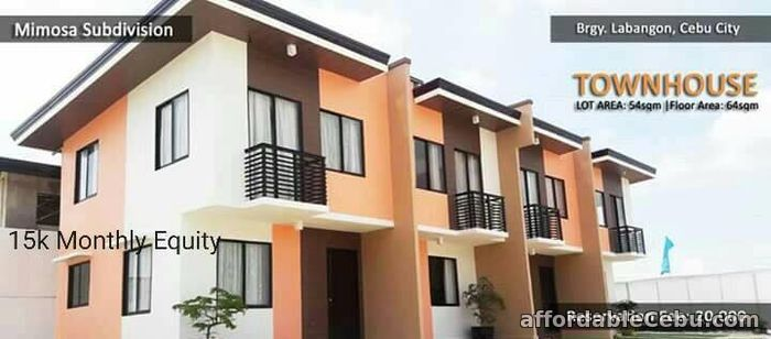 2nd picture of affordable house & lot in labangon cebu city Mimosa subd For Sale in Cebu, Philippines