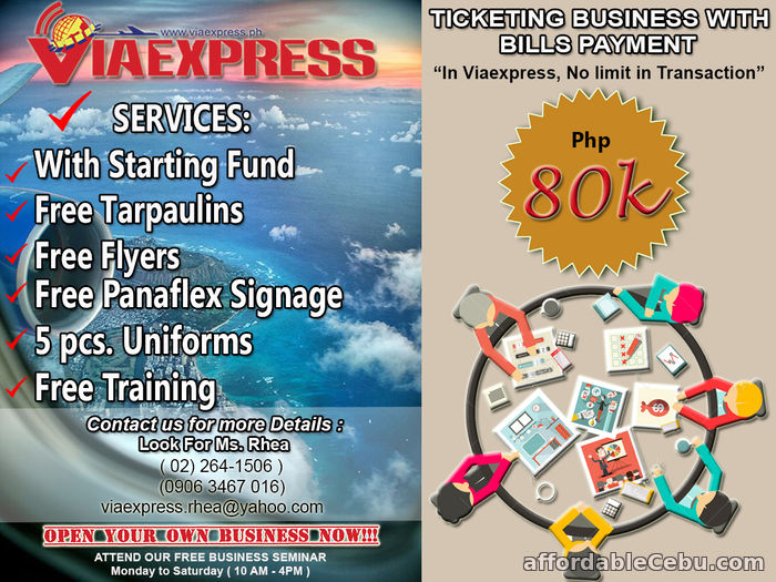 1st picture of Top Business Opportunity Bills Payment Business Promo Business For Sale in Cebu, Philippines