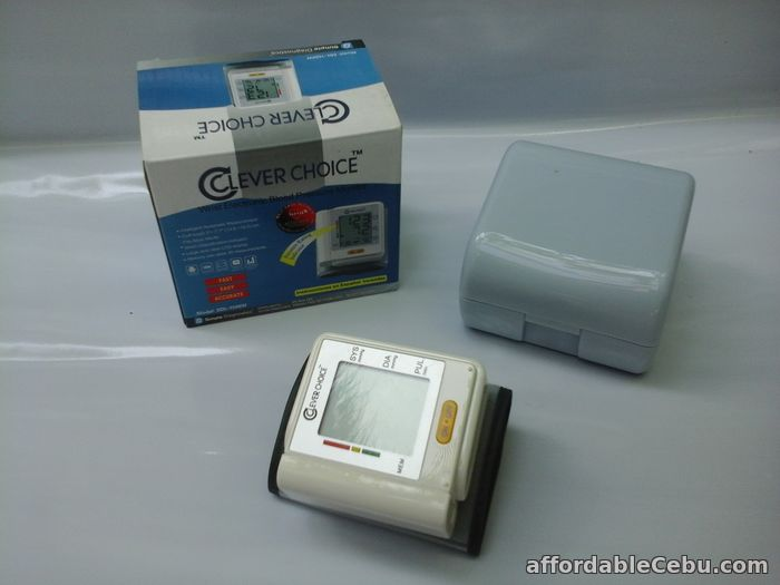 2nd picture of DIGITAL BP BLOOD PRESSURE MONITOR WRIST TYPE SDI 1186 For Sale in Cebu, Philippines