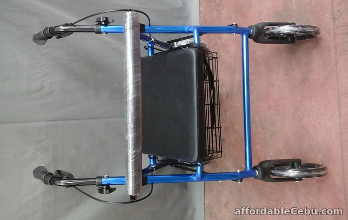 3rd picture of ROLLATOR ADULT WALKER WITH 4 WHEELS For Sale in Cebu, Philippines