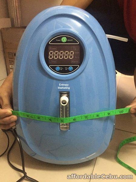 2nd picture of PORTABLE RECHARGEABLE MEDICAL OXYGEN CONCENTRATOR 5 LPM For Sale in Cebu, Philippines