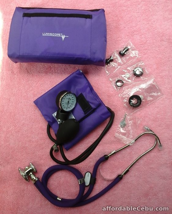 2nd picture of Lumiscope BP Aneroid Sphygmomanometer with Stethoscope For Sale in Cebu, Philippines